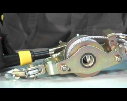 3-hook ratchet puller