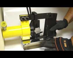 Hydraulic busbar bending tool SHG-150+