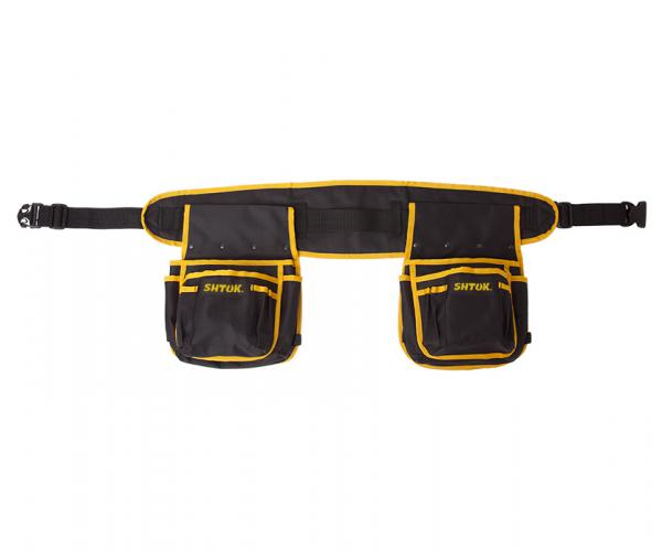 Electrical installer belt with two pockets