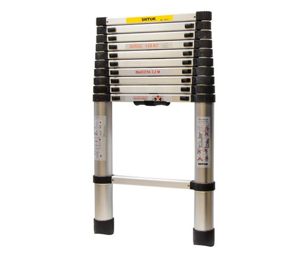Telescopic ladders 3,2 m (without a case-bag)