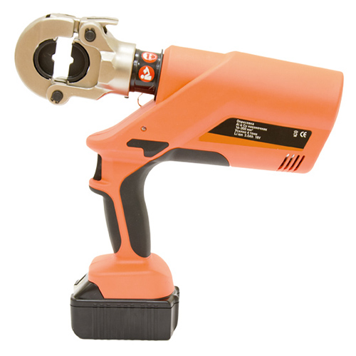 Battery-powered electro-hydraulic crimping tool PEGA-300