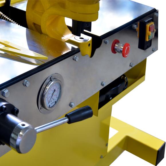 HYDRAULIC BUSBAR PROCESSING MACHINE SRSH-R-11